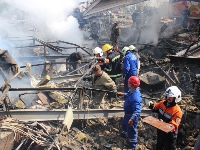 Взрыв на АЗС под Киевом унес жизни пятерых человек