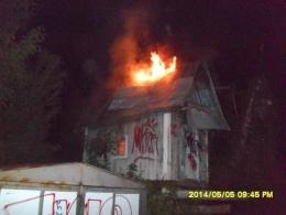 В Киеве неизвестные дважды подожгли голубятню