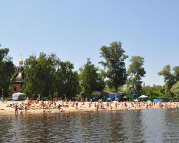 Где в Киеве безопасно и небезопасно купаться?