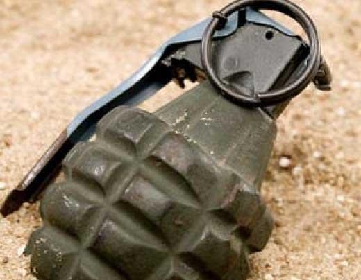 По Киеву ездил мужчина с гранатой