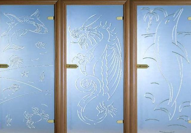 В чем секрет популярности стеклянных дверей?