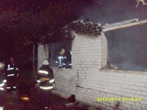 В Киеве молния ударила в частный дом. Погиб мужчина