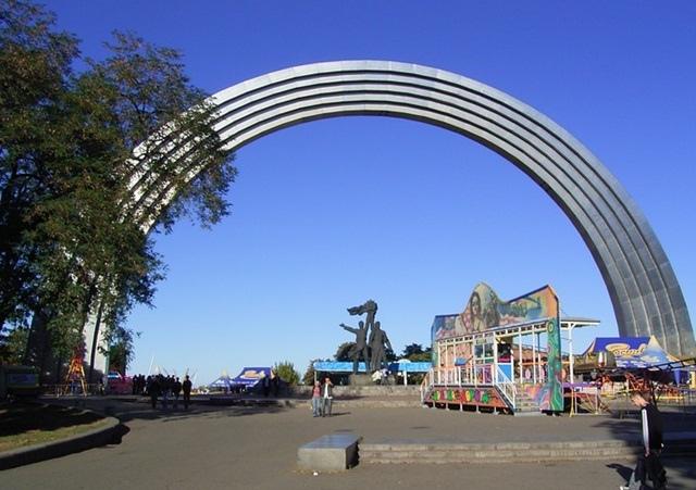 Бондаренко хочет снести арку Дружбы народов в Киеве