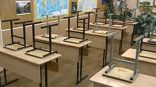 26 мая у киевских школьников будут однодневные вынужденные каникулы