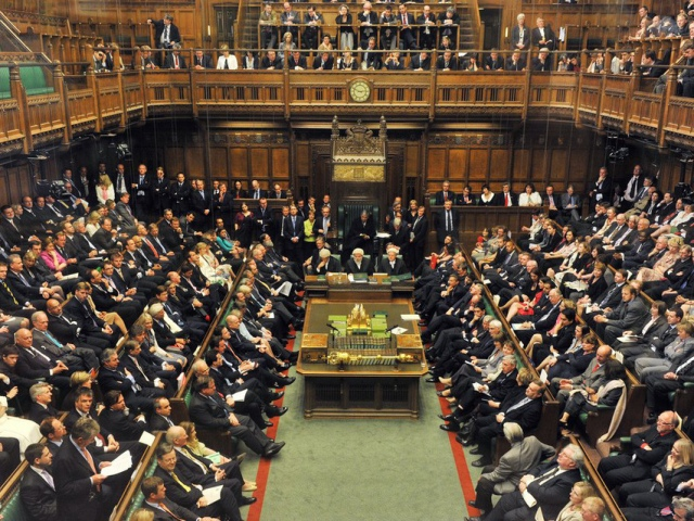 видеоконференцсвязь в британском парламенте