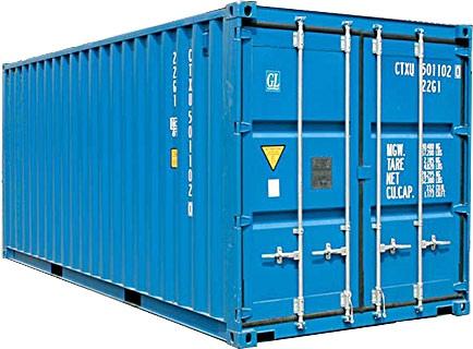 Какие виды морских контейнеров существутвуют, и их размеры