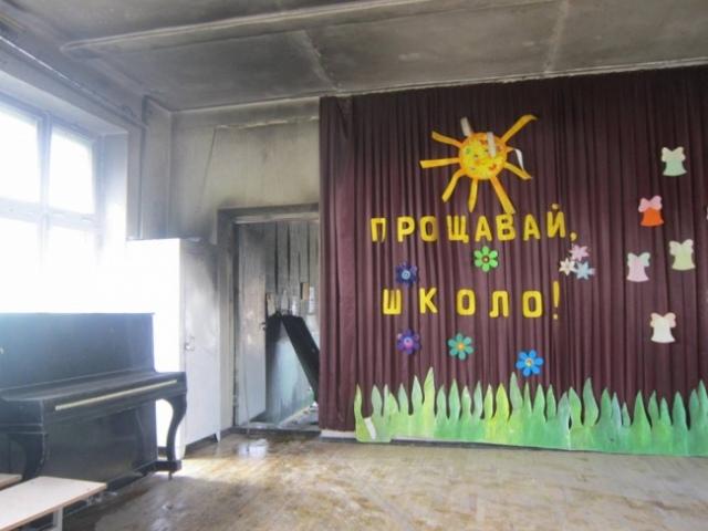 В День защиты детей на Соломенке горела школа