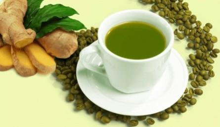 Зеленый кофе с имбирем – средство для насыщения организма полезными веществами