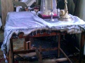 666 - в Киеве едва не сожгли храм Воскресения Христова