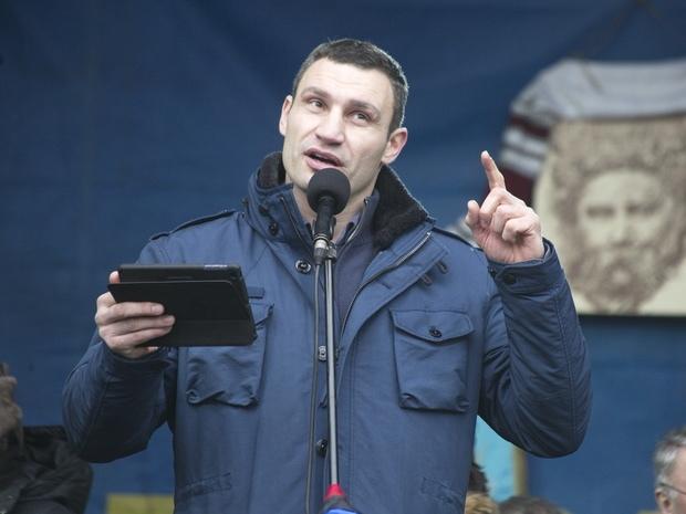 От Кличко ждут преобразование Киева в евростолицу