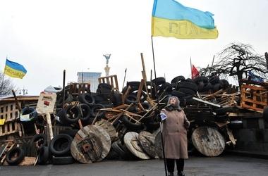 На Майдане вместо старых баррикад появятся цивилизованные блок-посты