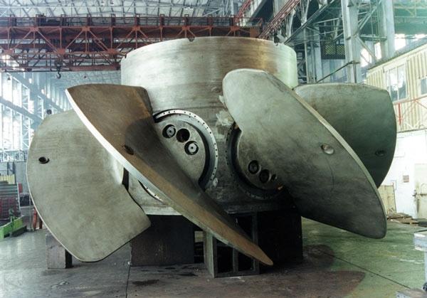Технология изготовления и опыт производства гидротурбин