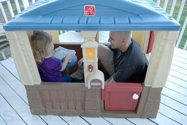 Зачем нужны детские домики STEP 2?