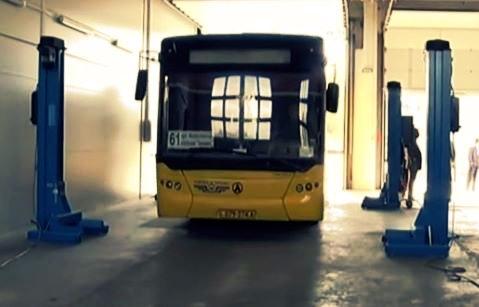 На Троещине построили автобусный парк за 70 млн. грн.
