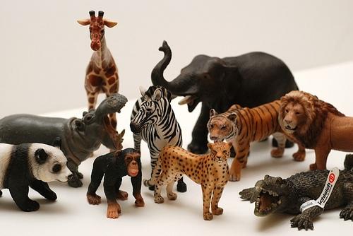 Фигурки животных Schleich - позволят детям обустроить на дому зоопарк