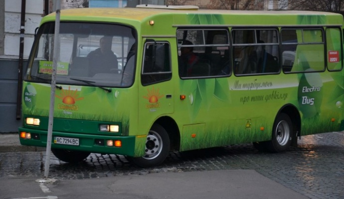 Из маршрутки сделали электроавтобус