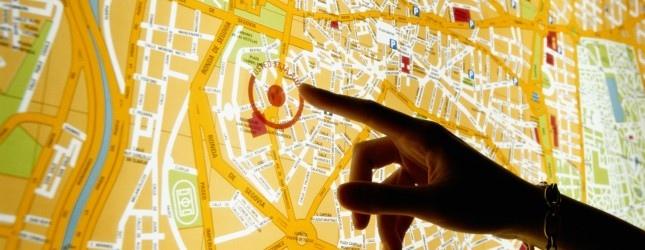 �������� ��������� ���������� ����� ������� �� Google Maps