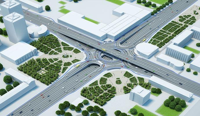 Как будет выглядеть транспортная развязка на Шулявке?