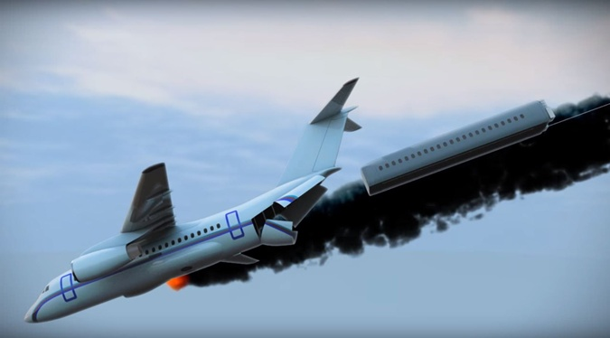 Киевский ученый придумал, как спасать людей в авиакатастрофах