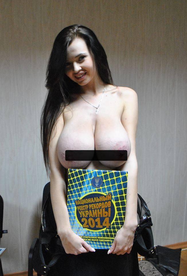 Огромные ракидныые груди фото