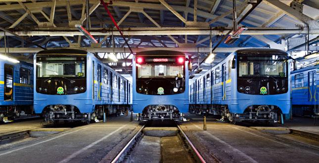 В киевском метро появятся совершенно новые поезда