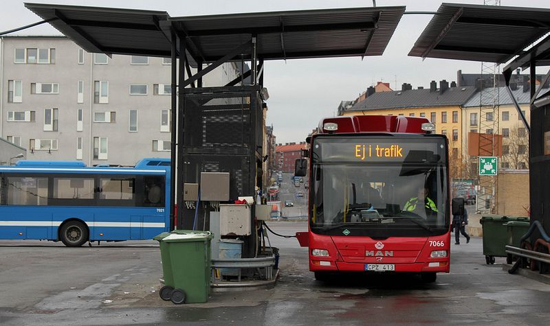 В Киеве для автобусов построят новые заправки