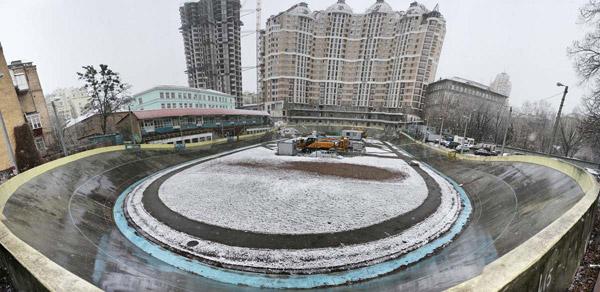Обновленный киевский велотрек презентуют в конце мая