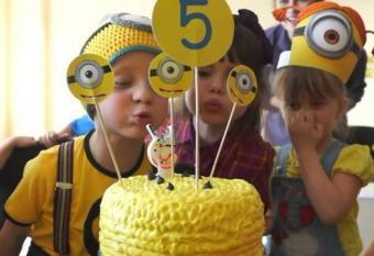День рождения в стиле Миньонов