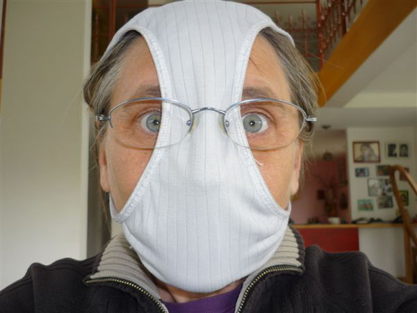 Киевлянам разрешили снять медицинские маски