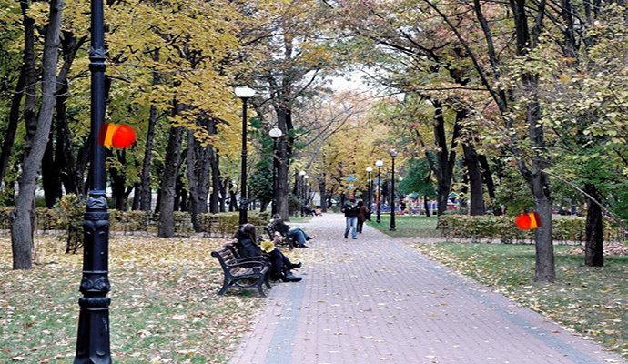 """В каких киевских парках появятся """"тревожные кнопки""""?"""