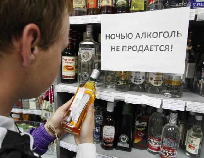 Сухой закон: в Киеве по ночам запретят торговать спиртными напитками