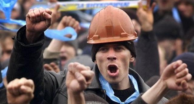 Киевские строители грозят устроить забастовку
