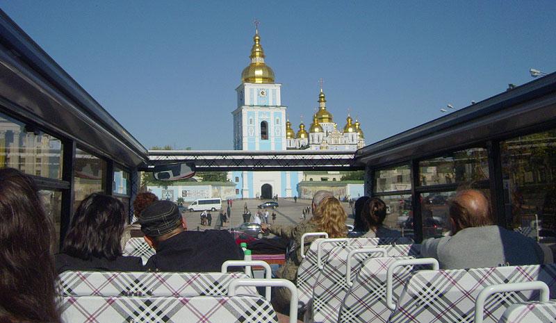 Киеву не хватает остановок для туристических автобусов