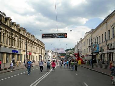 Улица Сагайдачного может стать пешеходной