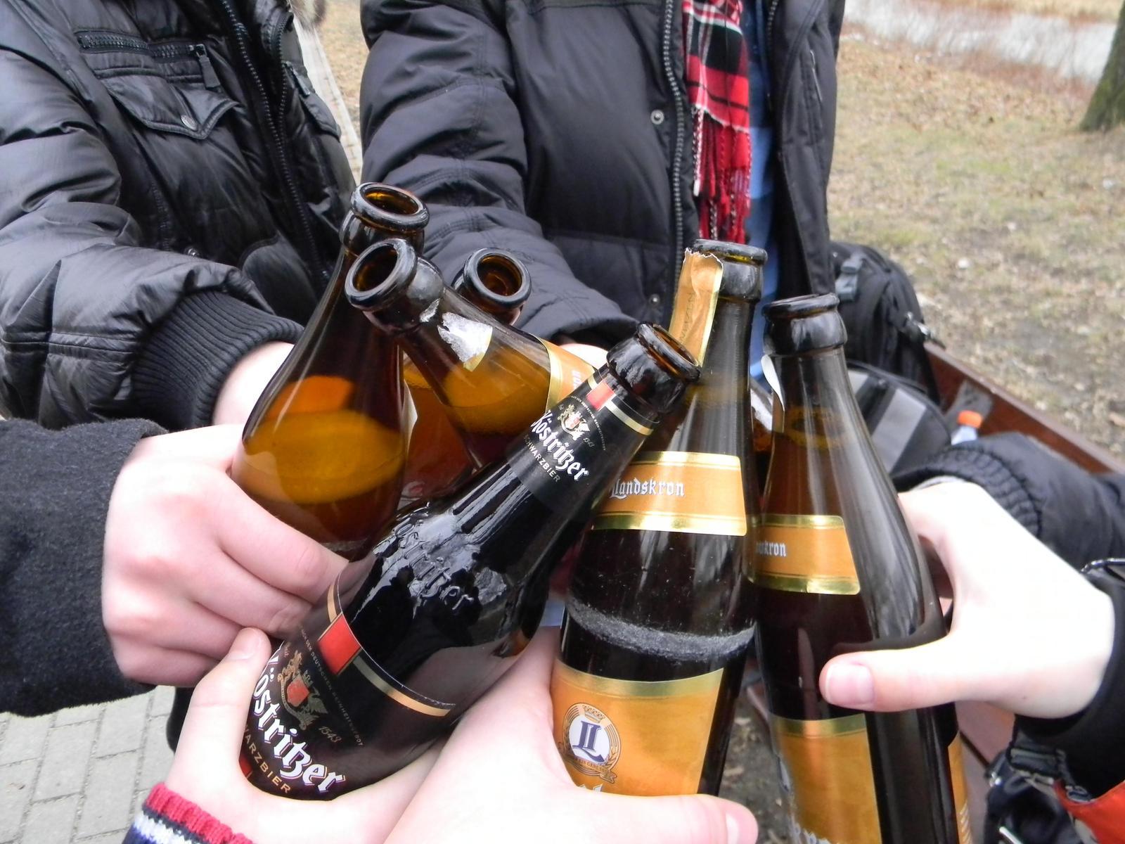 """За """"уличное пиво"""" в Киеве могут ужесточить наказание"""