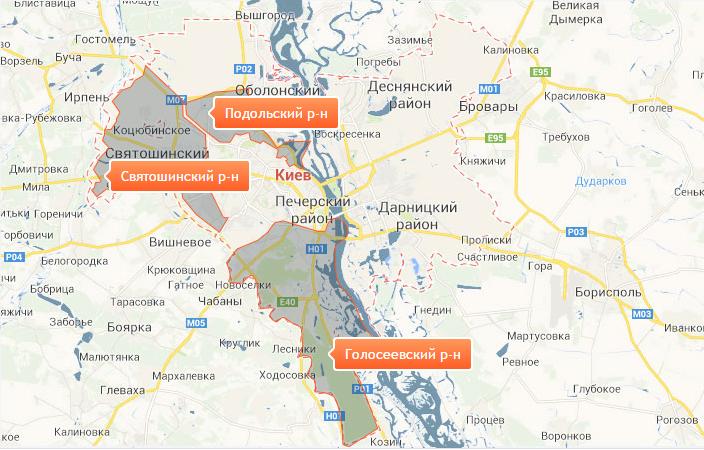 Появилась карта отключений горячей воды в Киеве