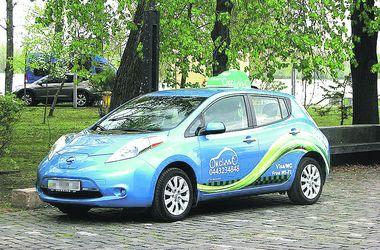 В Киеве появились такси-электрокары