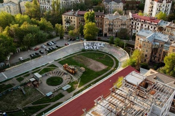 Столичные власти перенесли сроки открытия Киевского велотрека