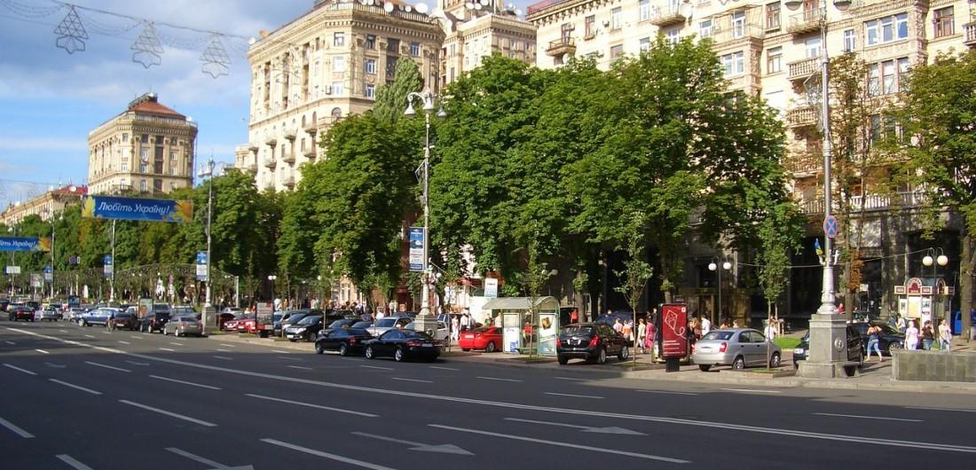 На ул. Крещатик до 10 июня ограничат движение транспорта