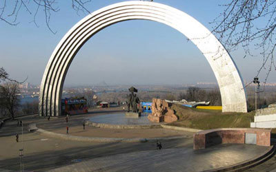 В Киеве намереваются снести Арку Дружбы народов