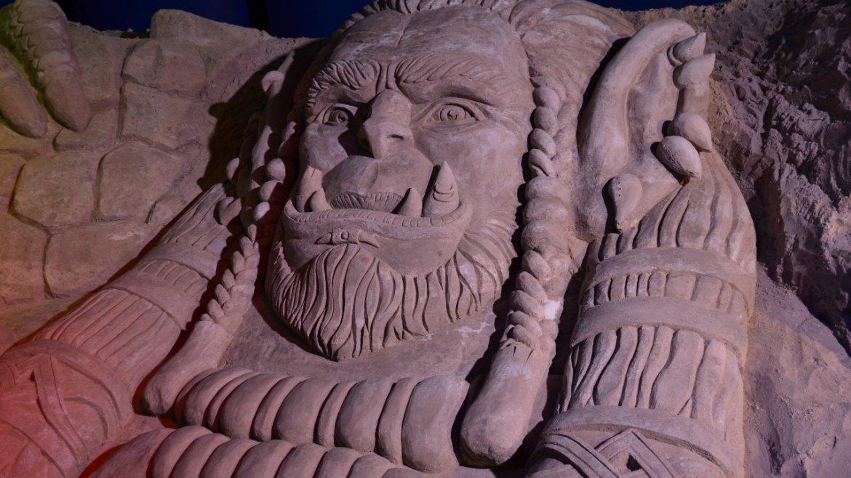На ВДНХ проходит выставка песчаных скульптур