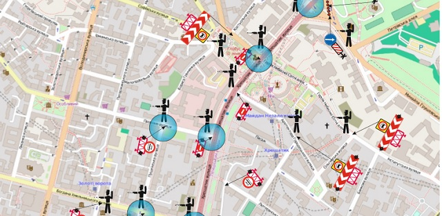 Из-за репетиции парада в Киеве перекроют движение транспорта