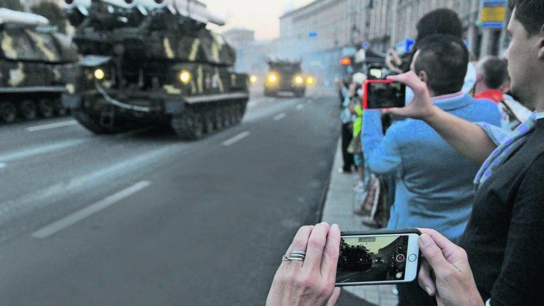 В День Независимости в Киеве опасаются терактов и провокаций