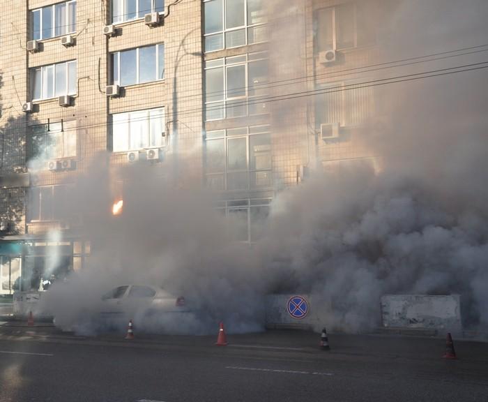 Возле Посольства Израиля в Киеве прогремели взрывы