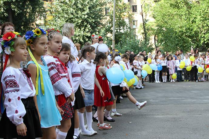 Линейки в киевских школах могут заменить флешмобами