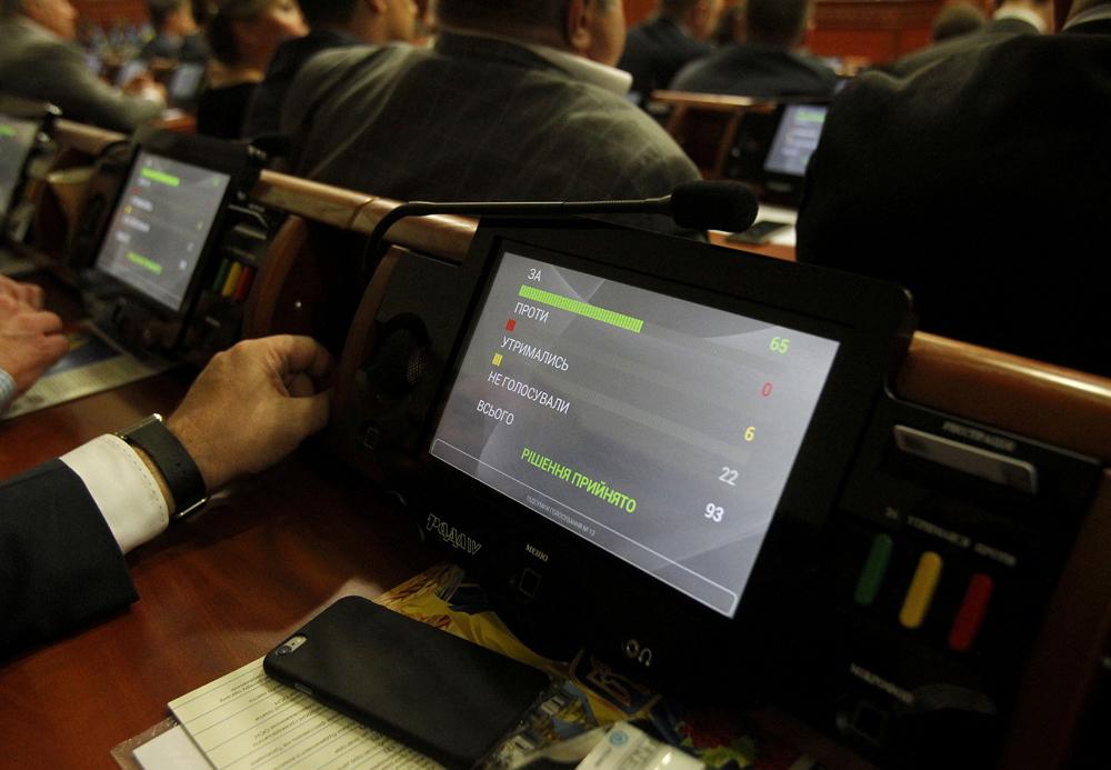 В Киевсовете идентифицировали нарушителя, голосовавшего чужой карточкой
