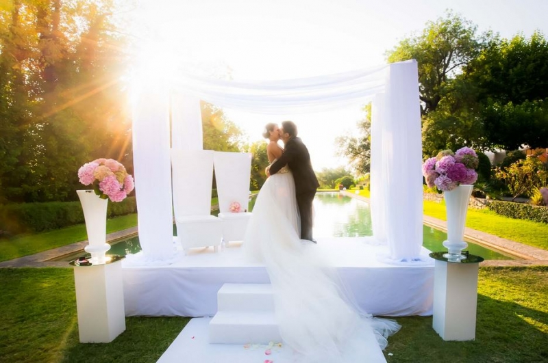 Цвет свадьбы: 4 популярных оттенка