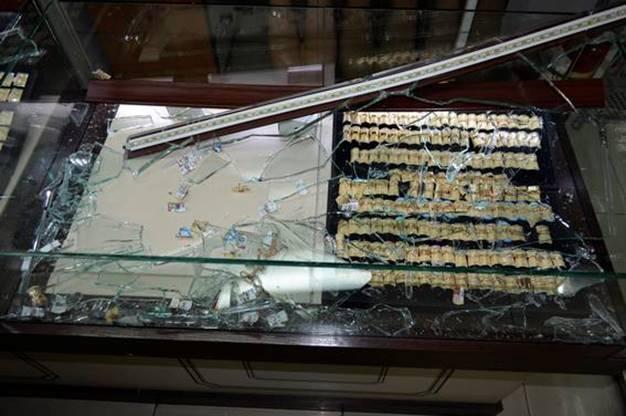 В ТЦ на Дарнице ограбили ювелирный салон