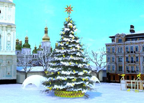 Праздник приближается: новогоднюю елку начнут устанавливать 3 декабря