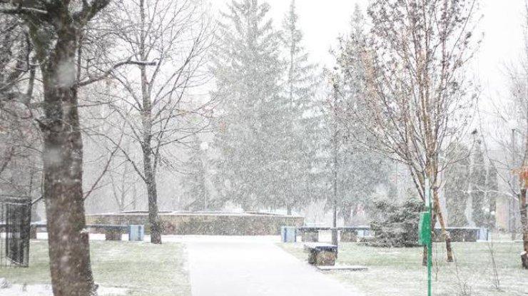 Испытание снегом: в Киеве ожидается гололедица и снежинки
